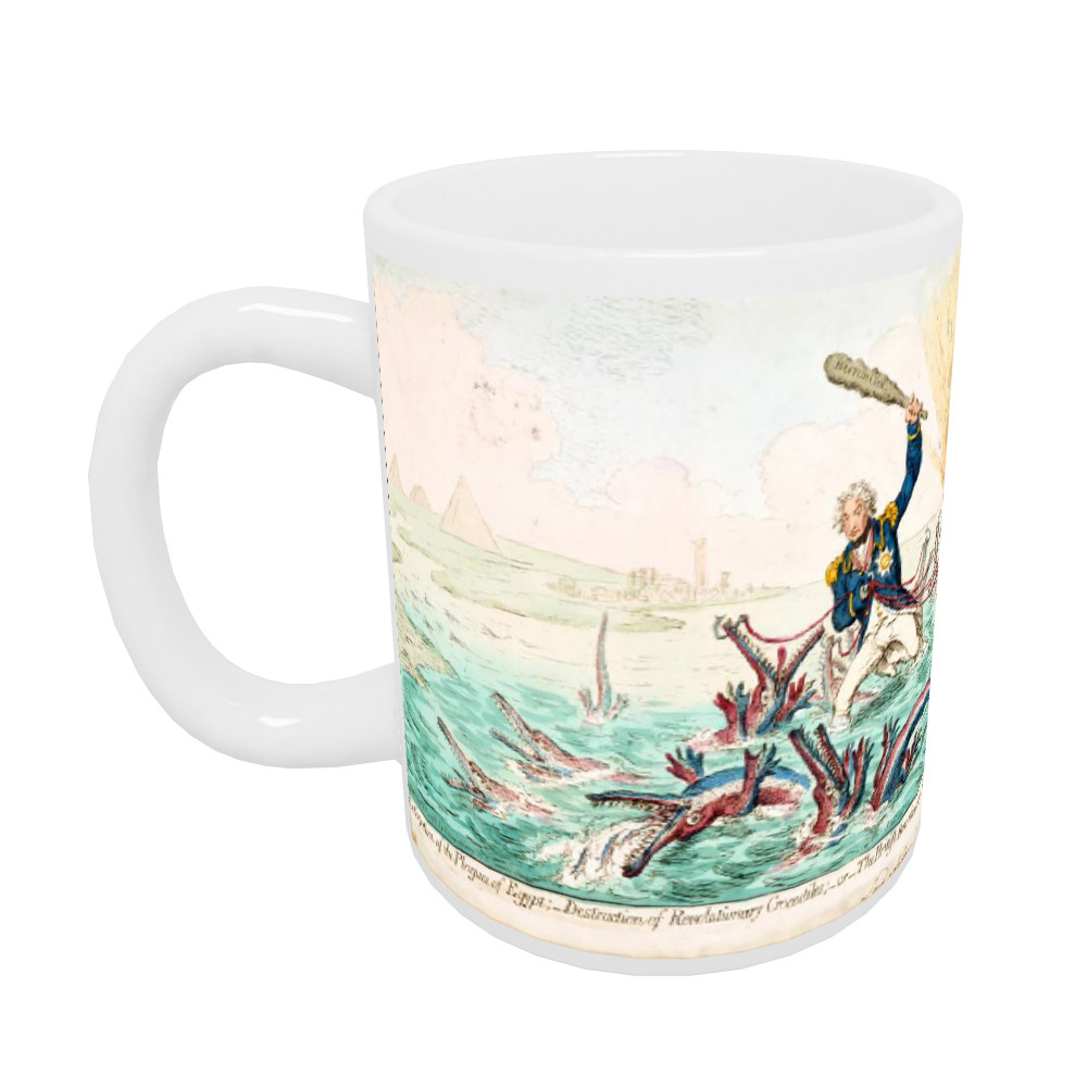 Extirpation of the Plagues of Egypt Mug