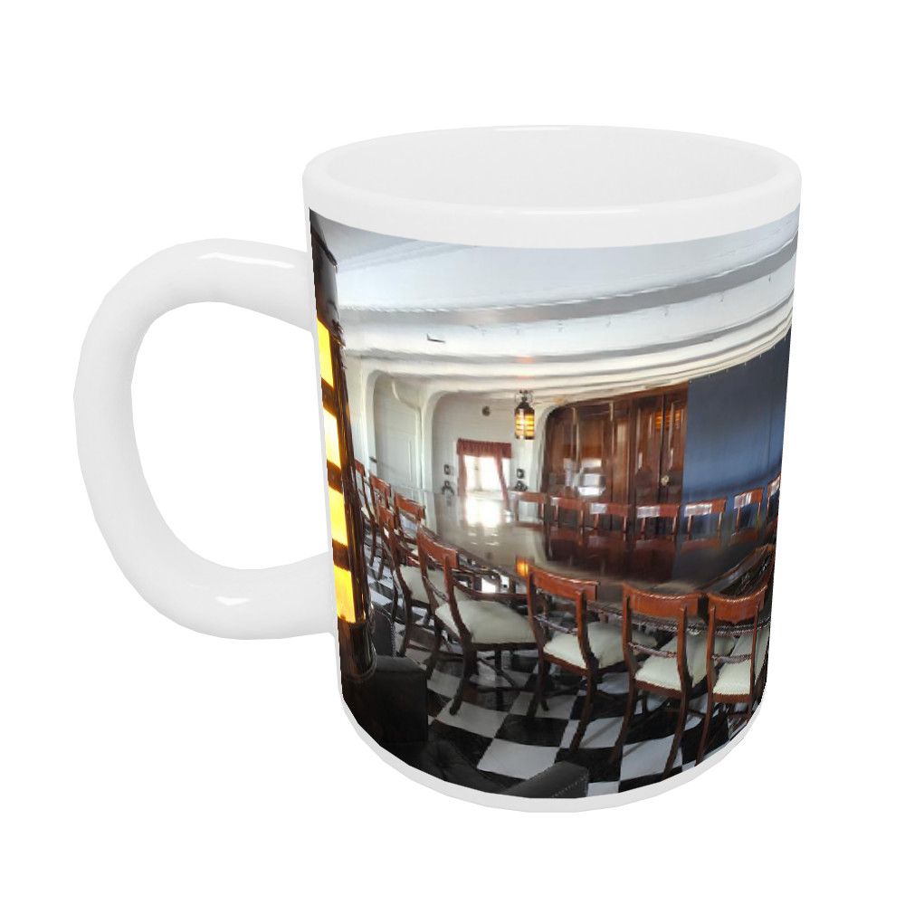 Captain Hardy's Cabin on HMS Victory  Mug