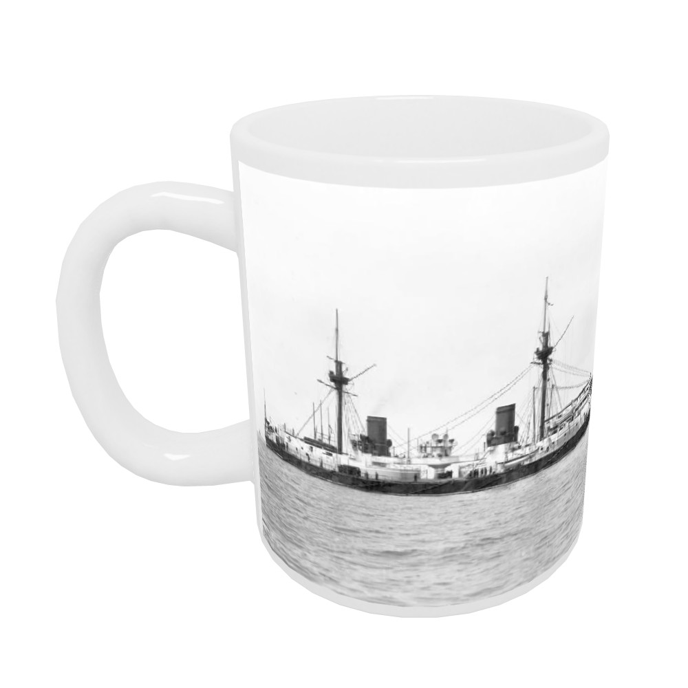 HMS Inflexible After Conversion to Military Rig Mug