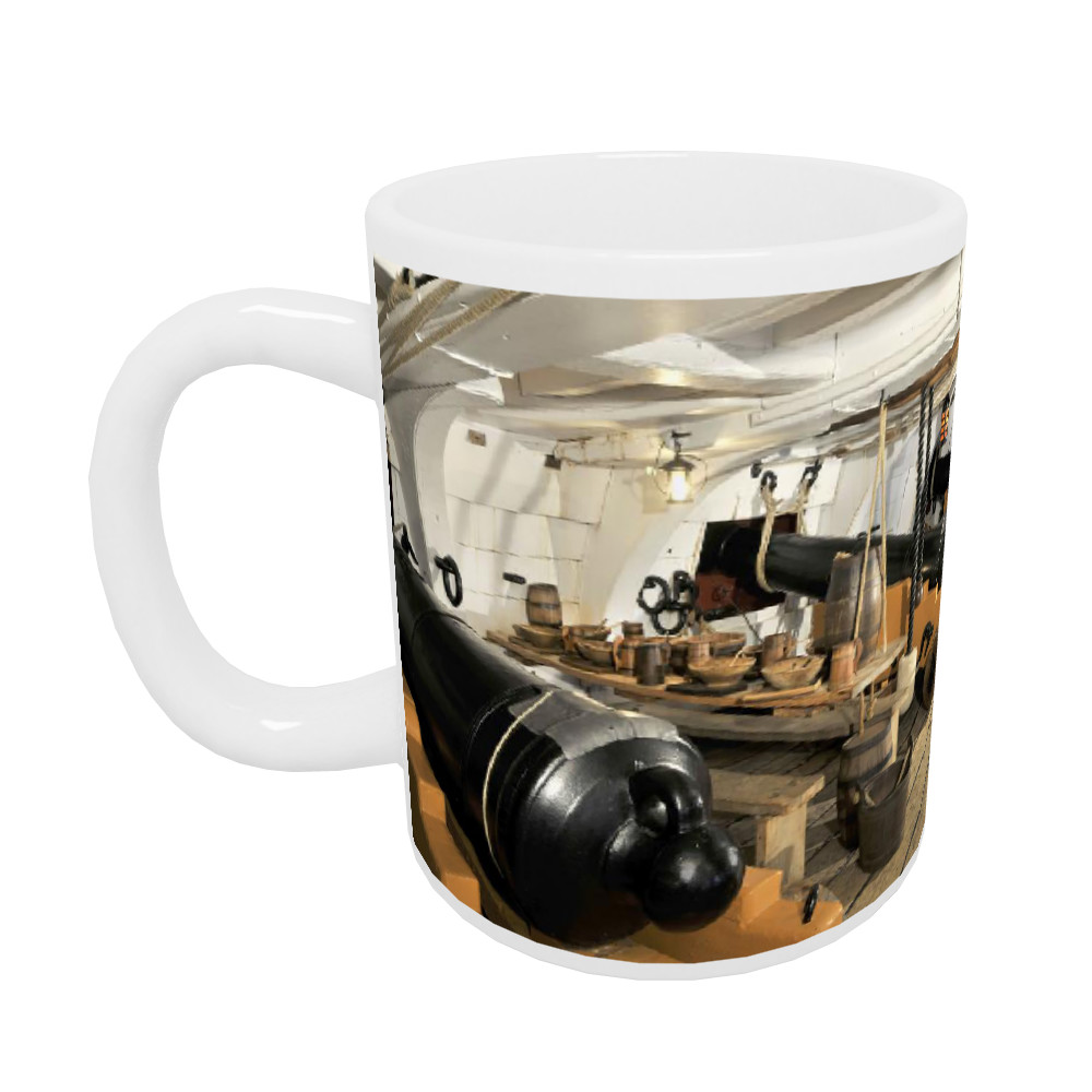 The Mess Deck on Board HMS Victory Mug