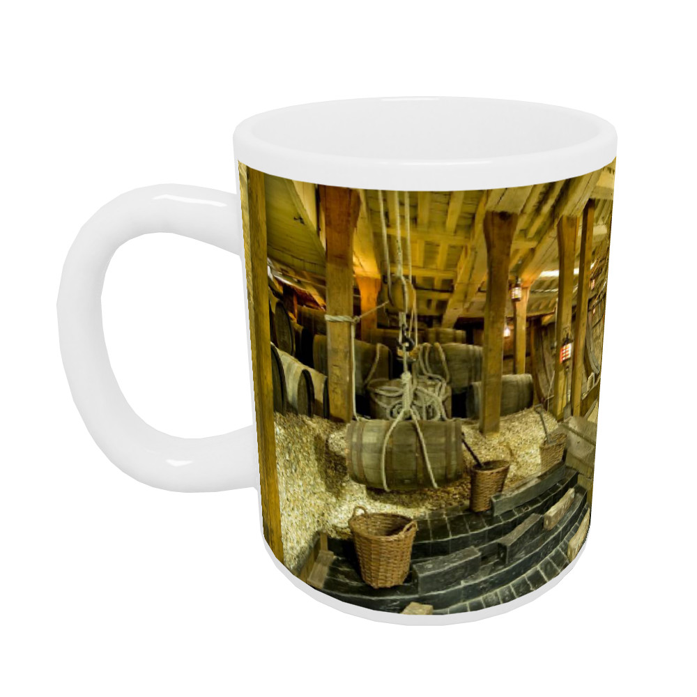 Ballast in the Hold of HMS Victory Mug