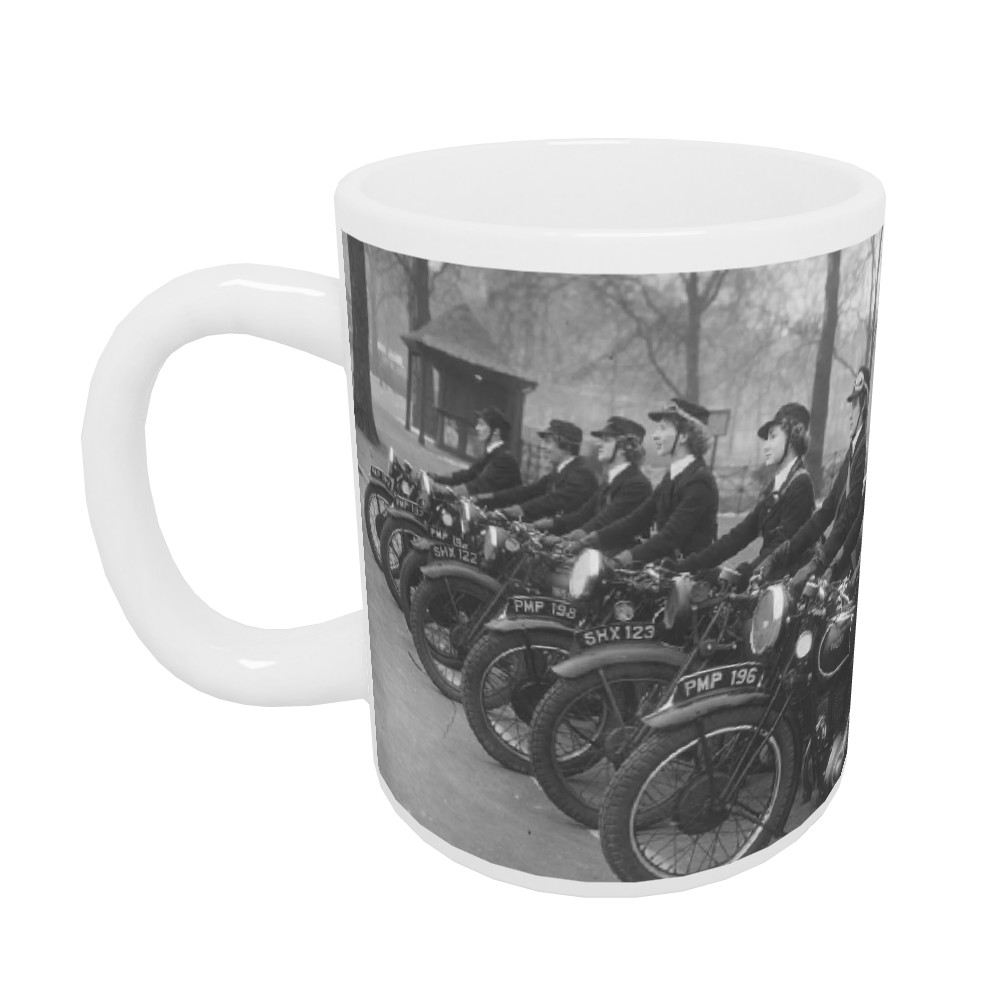 WRNS Despatch Riders Mug