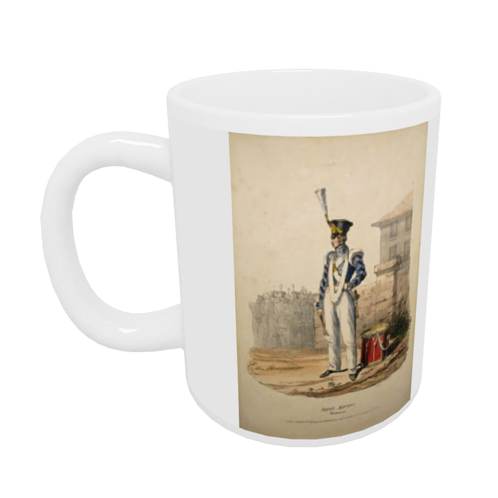 Royal Marines Drummer Mug