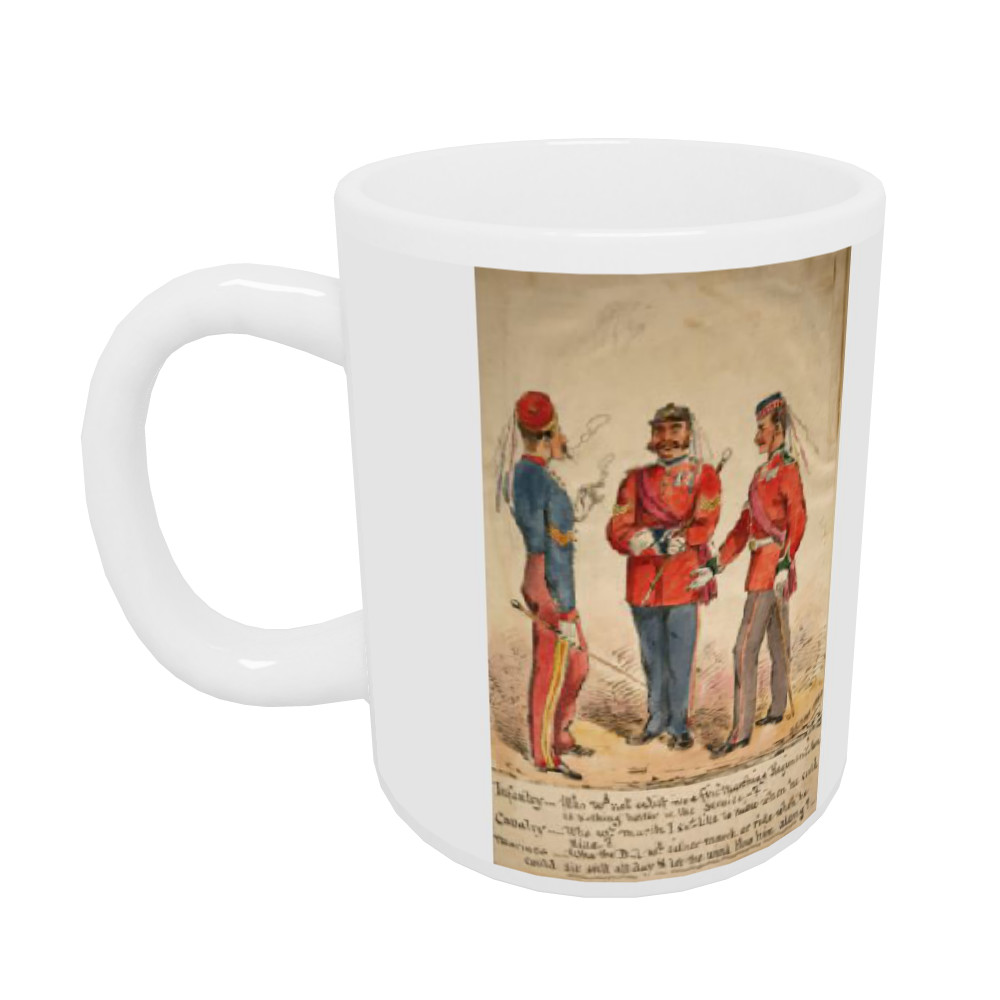 Infantry, Cavalry and Marines Discussion 1869 Mug