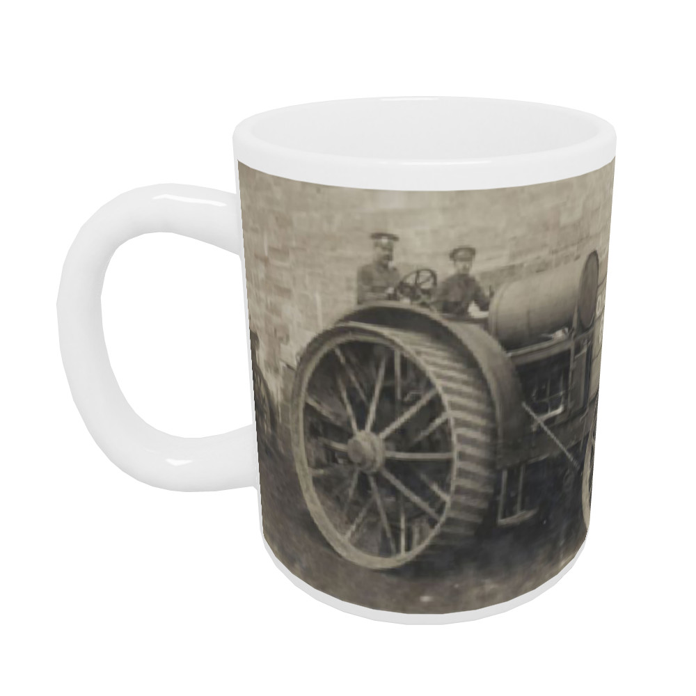 A Foster-Daimler 105hp artillery tractor operated by the  Royal Marine.. Mug