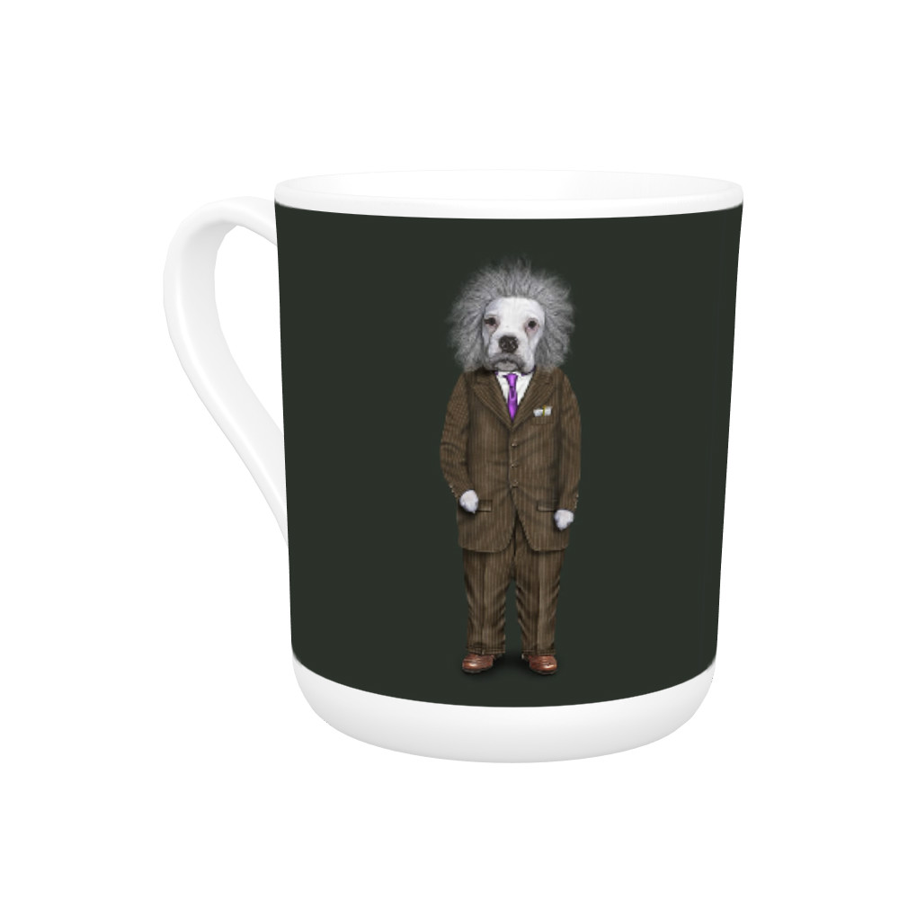 Brain Pets Rock Bone China Mug