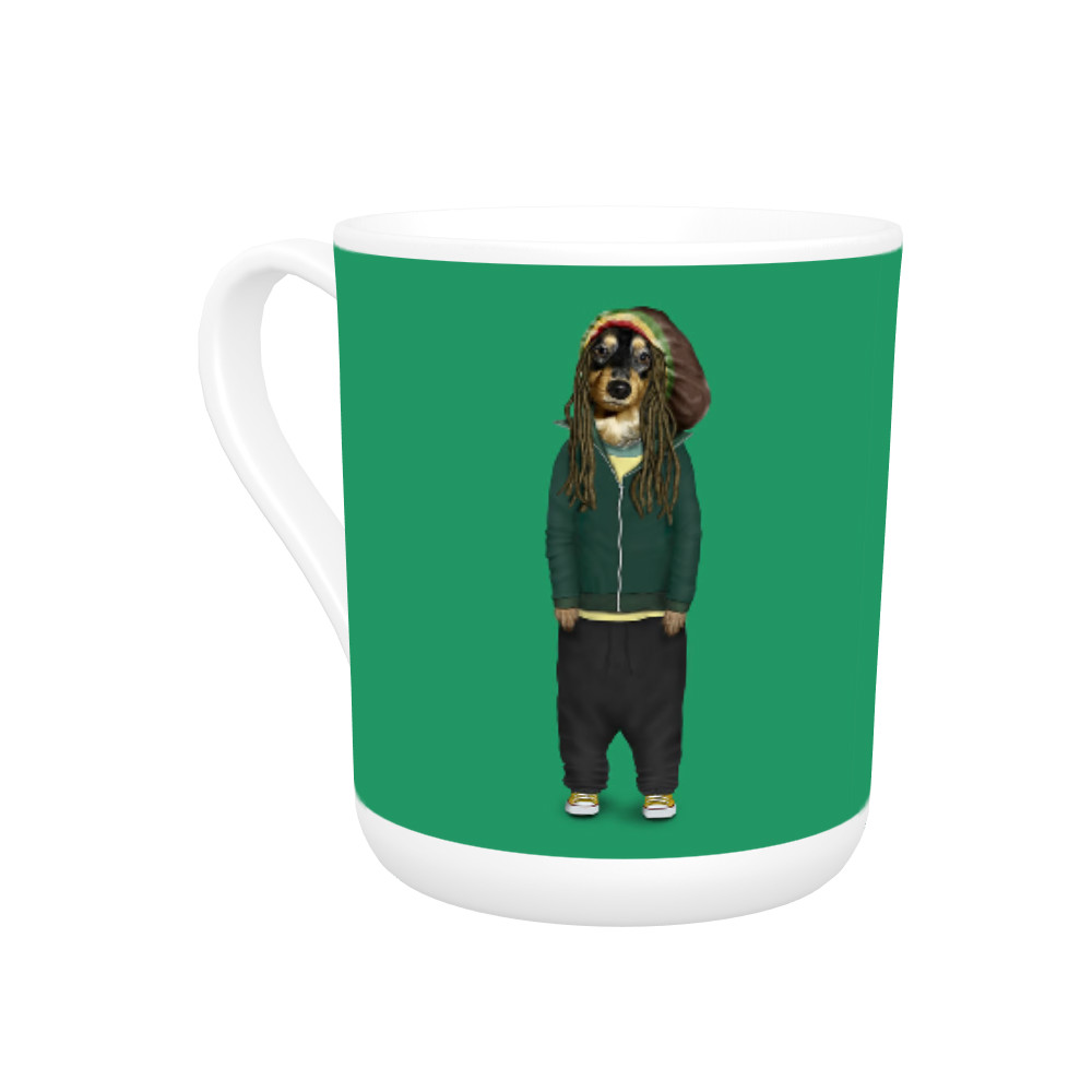 Reggae Pets Rock Bone China Mug