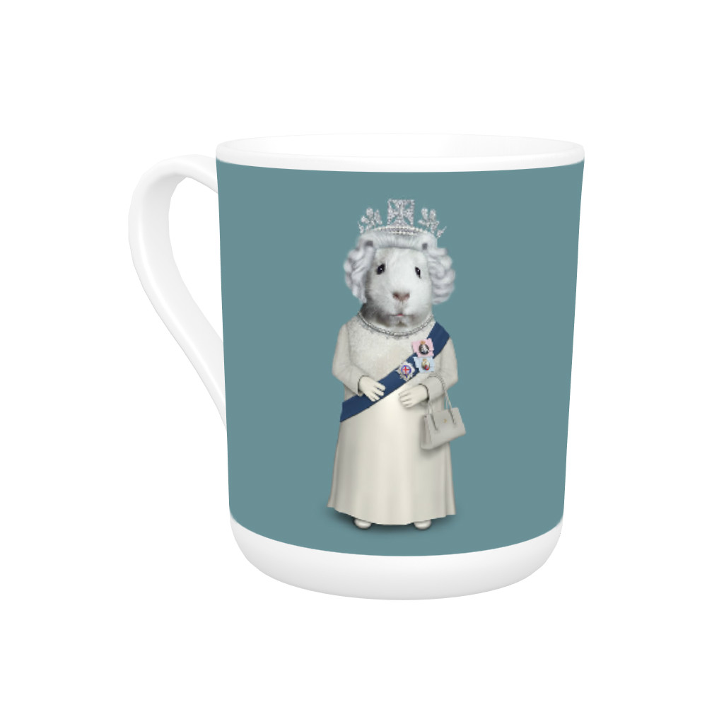 HRH Pets Rock Bone China Mug