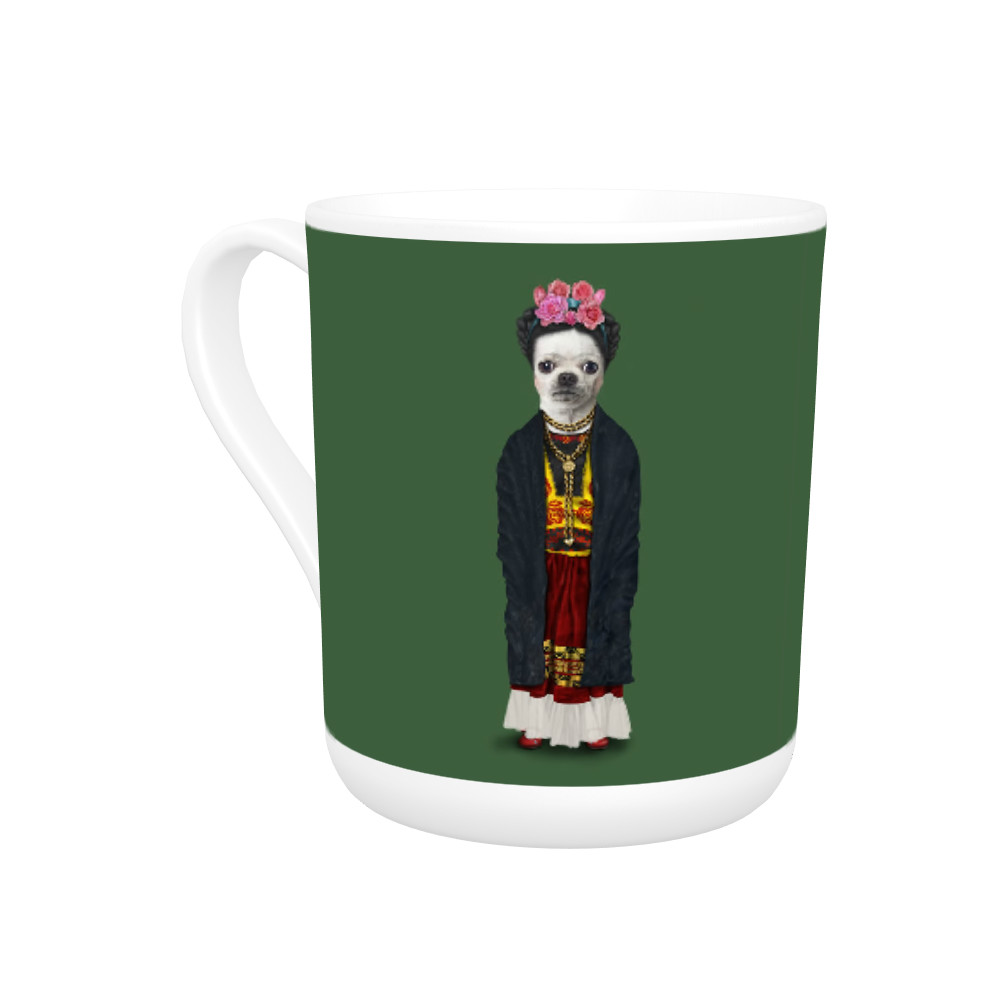 Mexico Pets Rock Bone China Mug