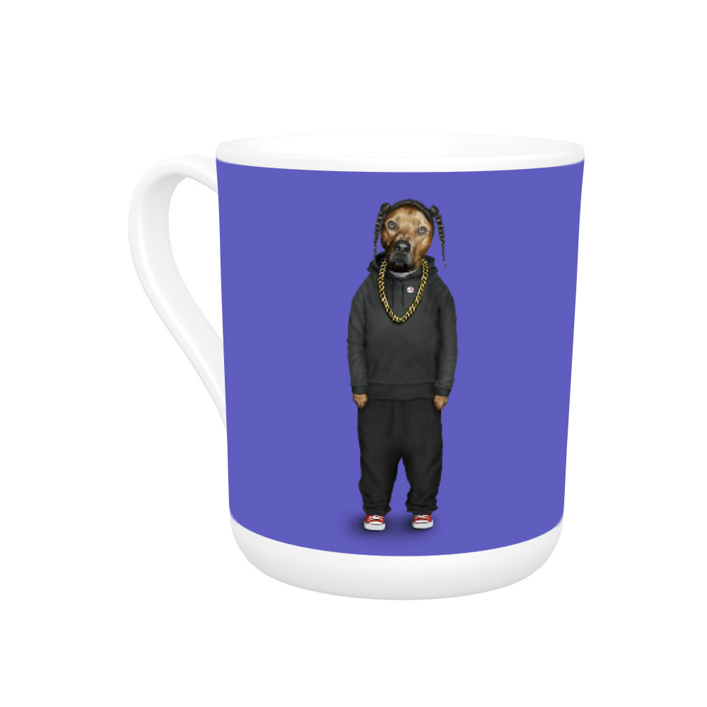 Rap Pets Rock Bone China Mug