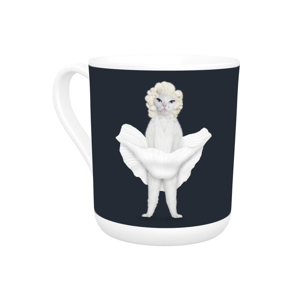 Diamonds Pets Rock Bone China Mug