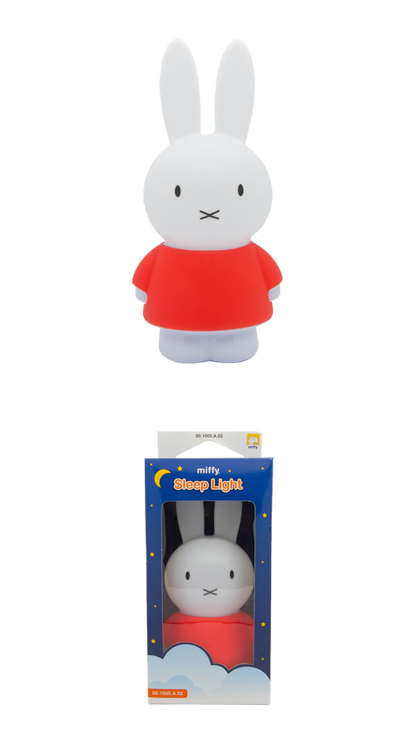 Miffy battery night lamp for kids