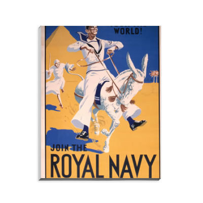 Join the Royal Navy - Tour the World Notepad
