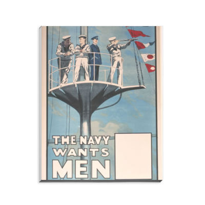The Navy Wants Men Notepad