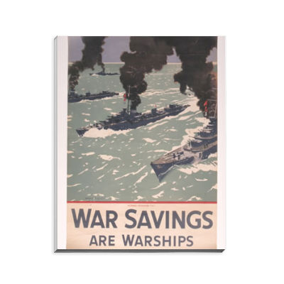 War Savings are Warships Notepad