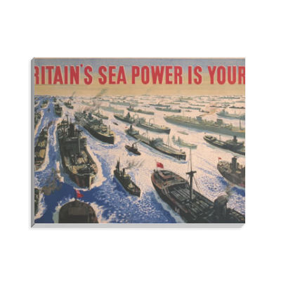 Britain's Sea Power is Yours! Notepad