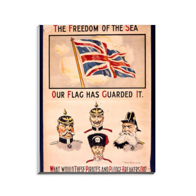 The Freedom of The Sea Our Flag Has Guarded It Notepad