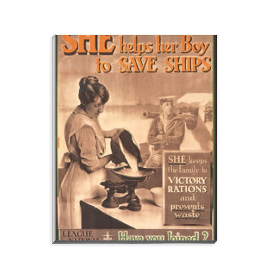 She Helps Her Boy to Save Ships Notepad