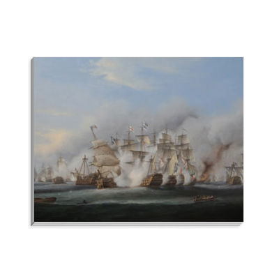 Battle of Trafalgar Notepad