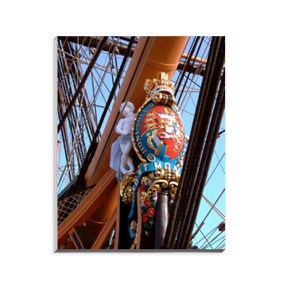 HMS Victory's Figurehead Notepad