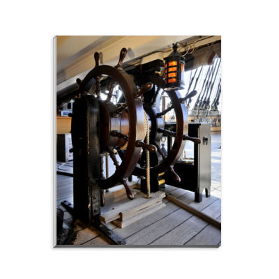 HMS Victory's Wheel Notepad