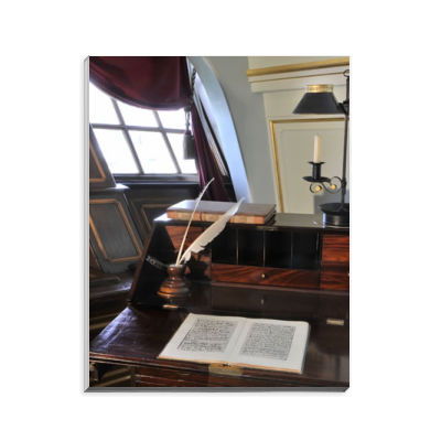 Nelson's Desk on HMS Victory Notepad