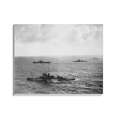 HMS Warspite, HMS Illustrious, HMS Resolution and HMS Royal Sovereign Notepad