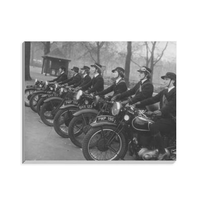 WRNS Despatch Riders Notepad