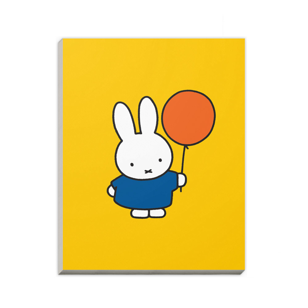 Miffy Holding a Balloon A6 Notepad