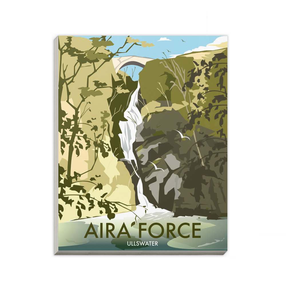 Aira Force, Lake District A6 Notepad