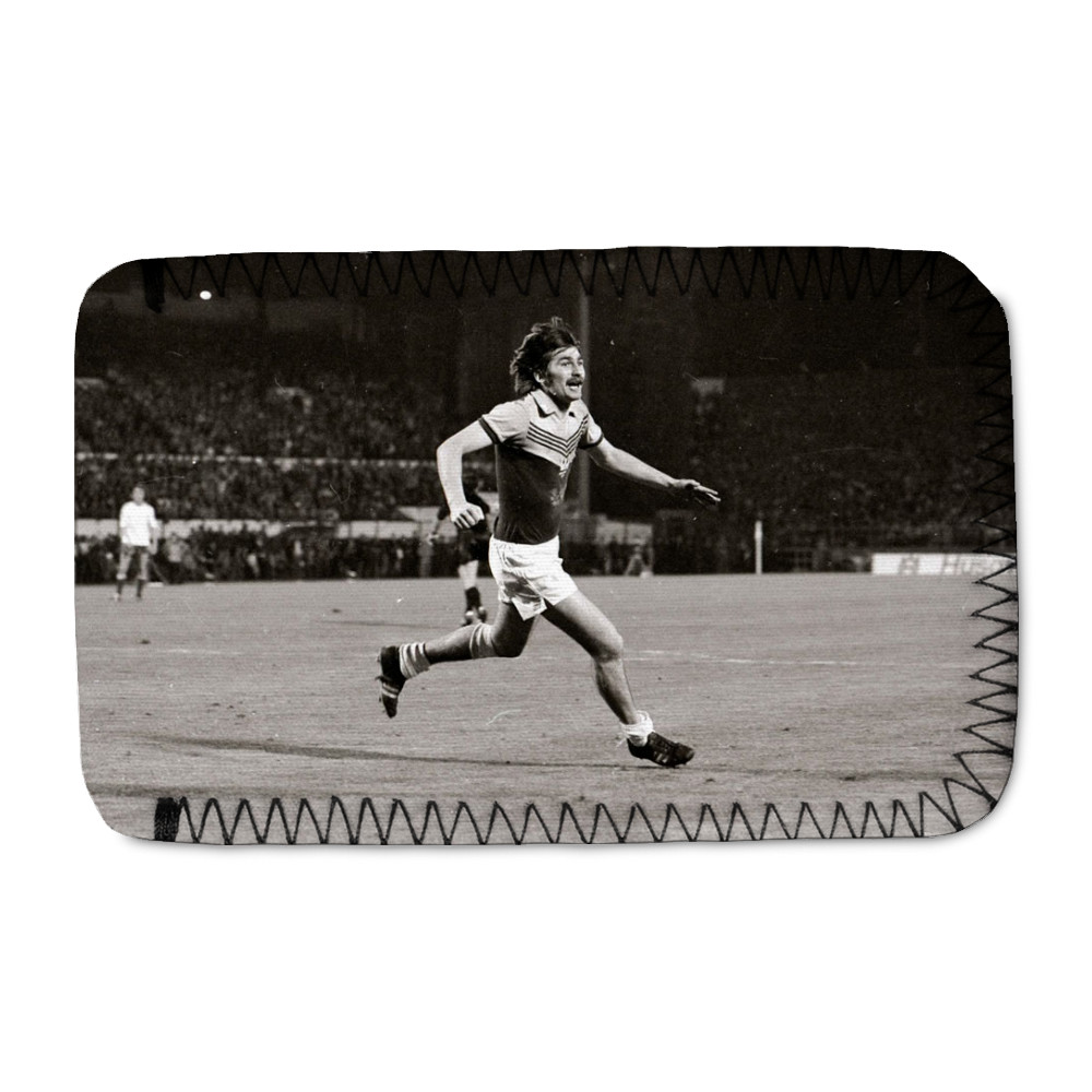 European Cup Winners Cup Final at the Heysel Stadium, May 1976. Anderlecht.. Phone Sock