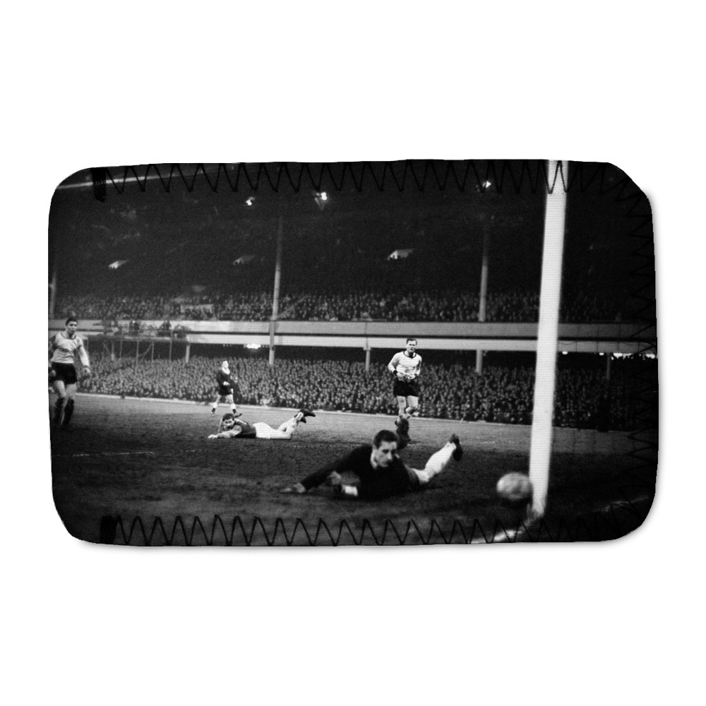 European Cup Winners Cup Semi Final First Leg match at Upton Park. West.. Phone Sock