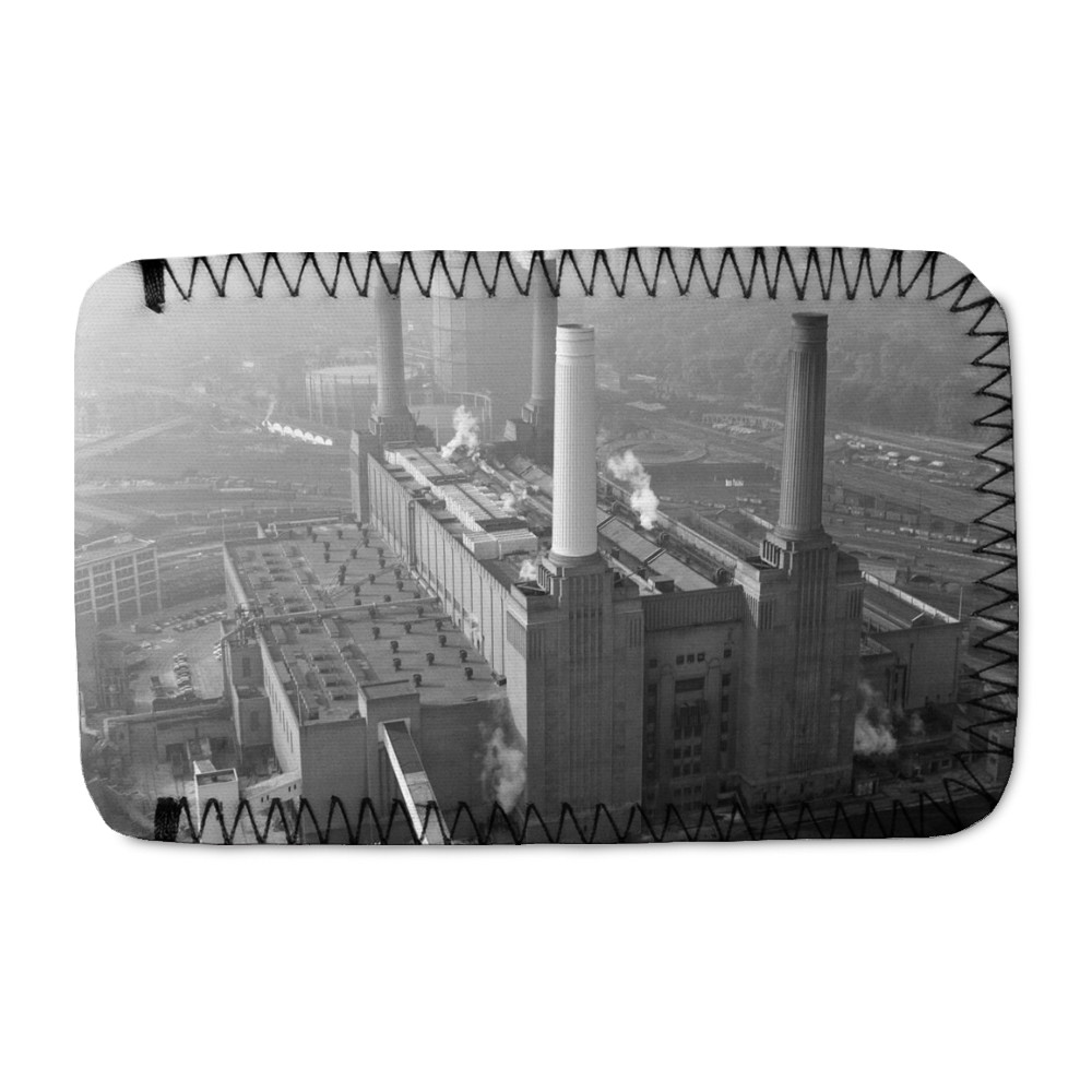 Aerial view of Battersea Power Station,.. Phone Sock