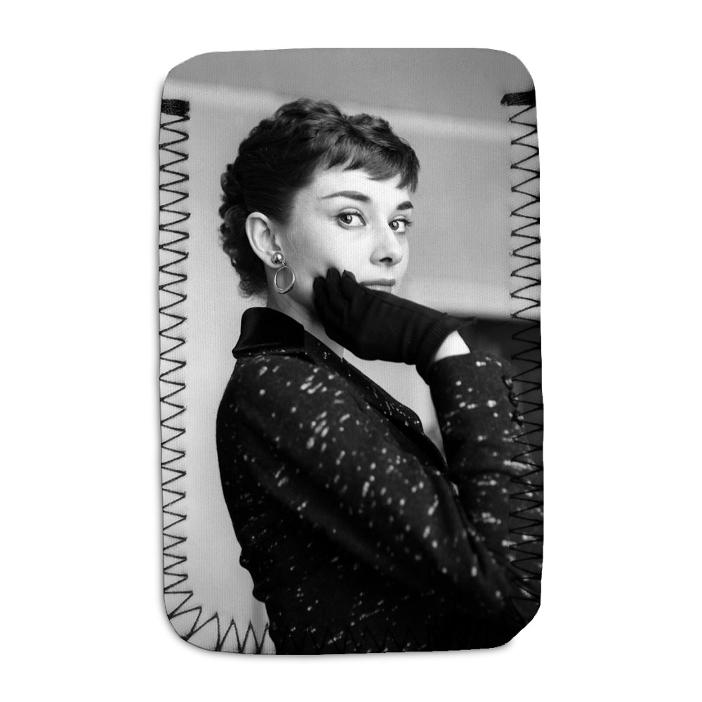 Audrey Hepburn Phone Sock