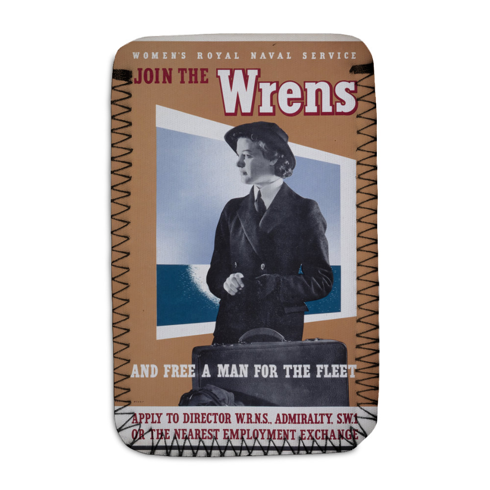 Join the Wrens and Free a Man for the Fleet Phone Sock