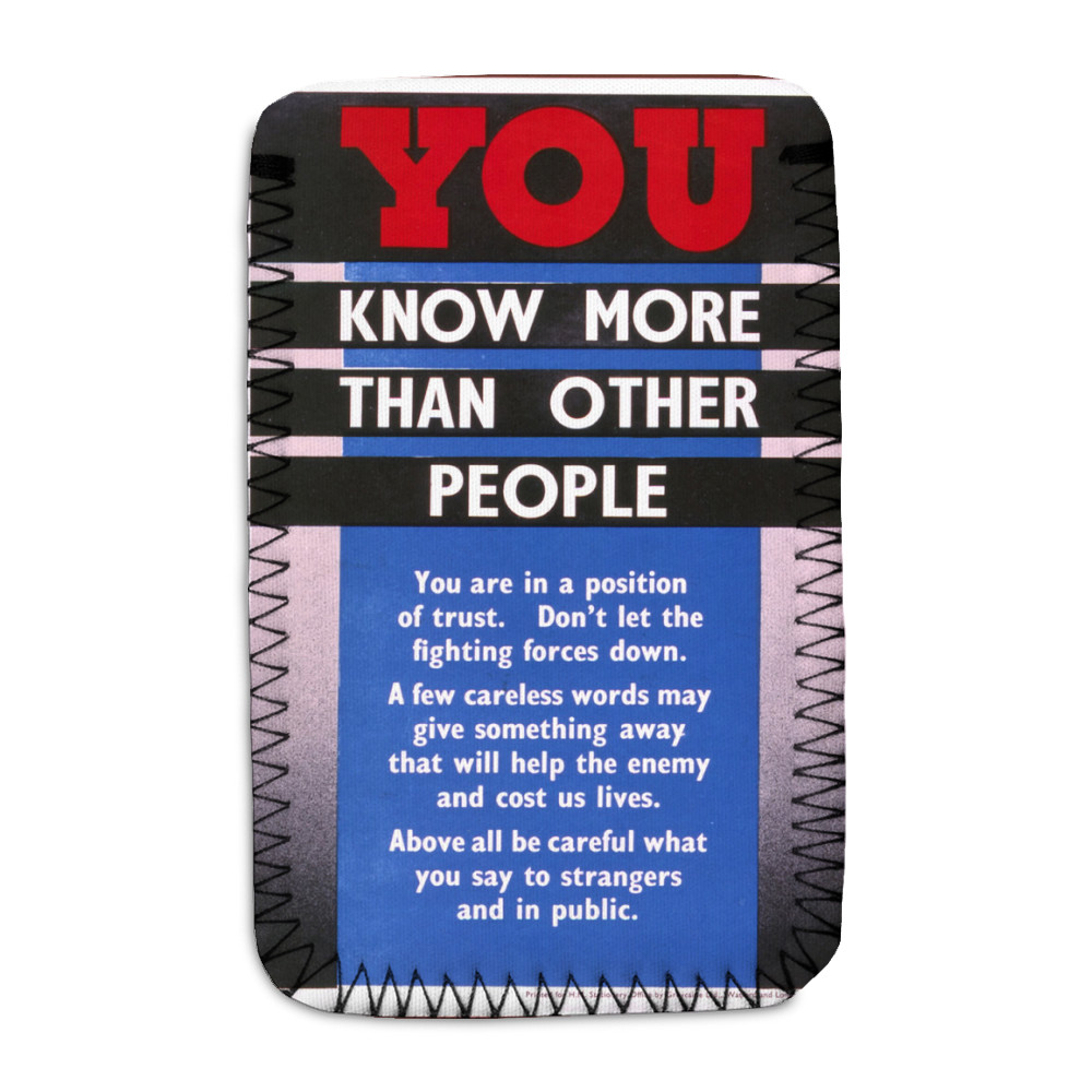 You Know More Than Other People Phone Sock