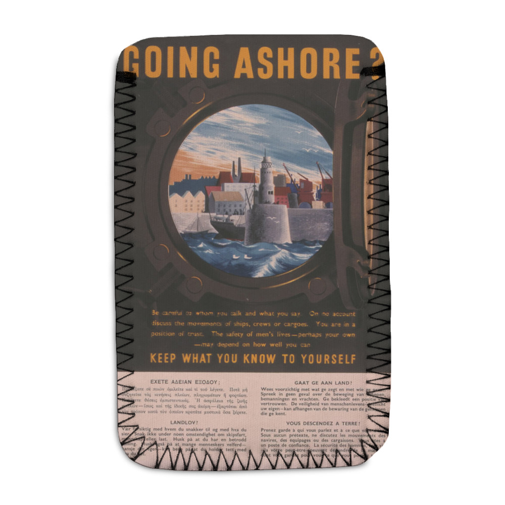 Going Ashore? Keep What You Know to Yourself Phone Sock
