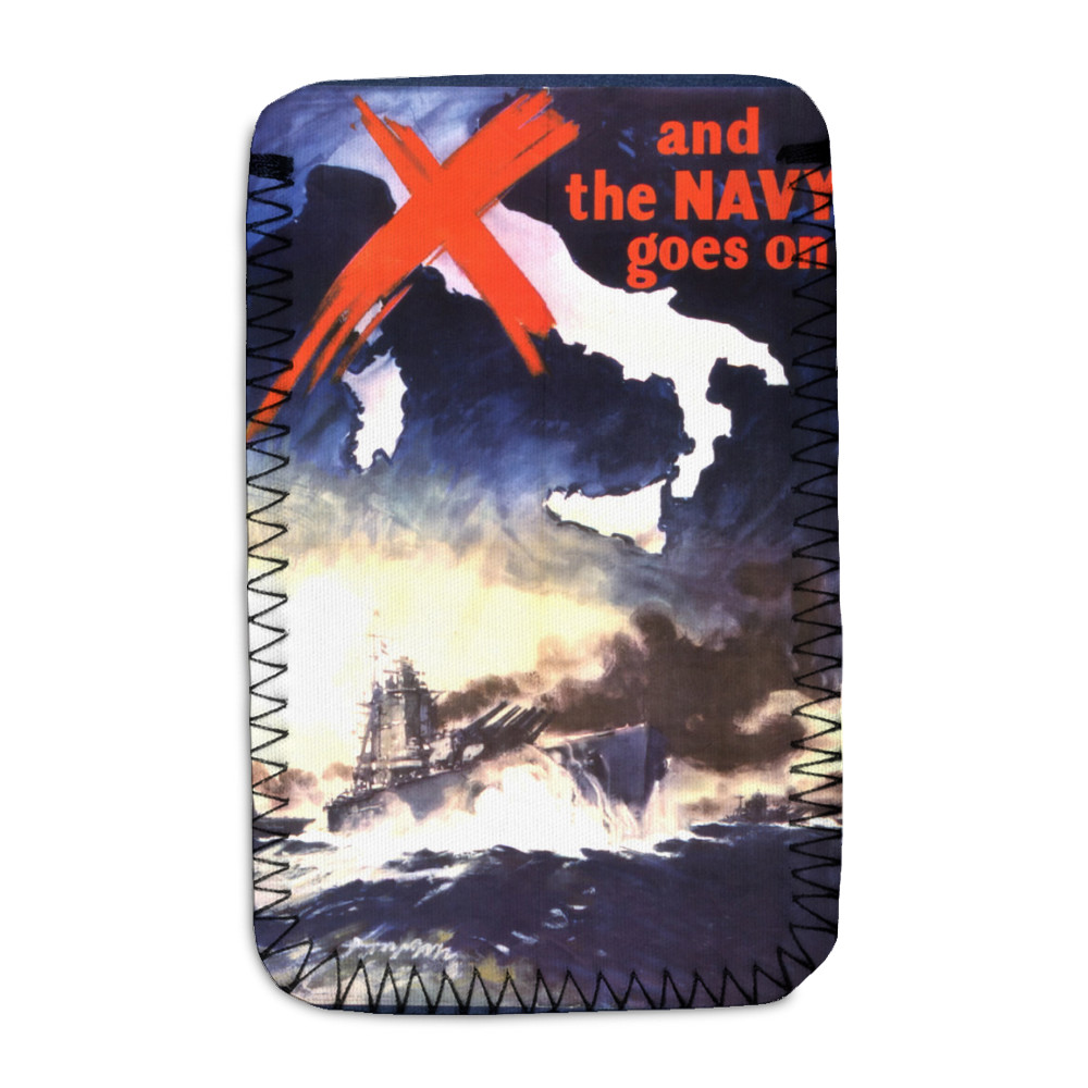 And the Navy Goes On Phone Sock