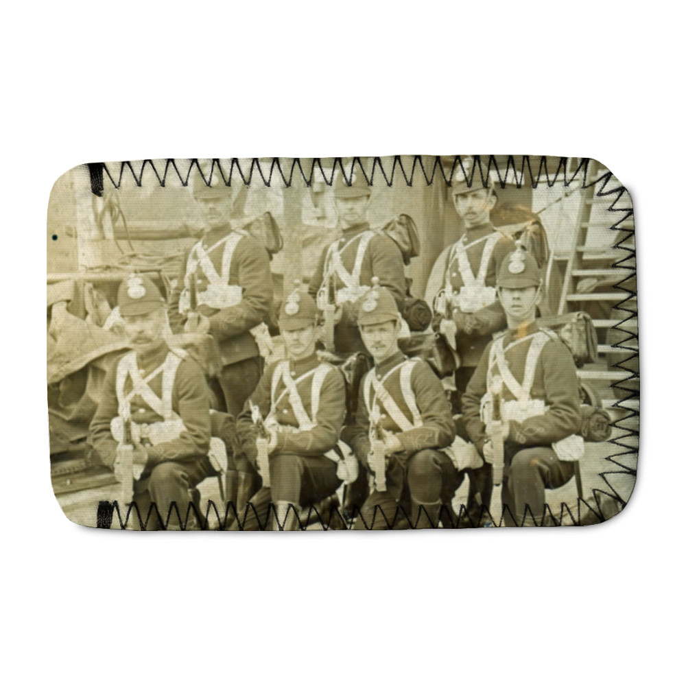 Royal Marine Artillery detachment aboard an unidentified warship, c1890... Phone Sock