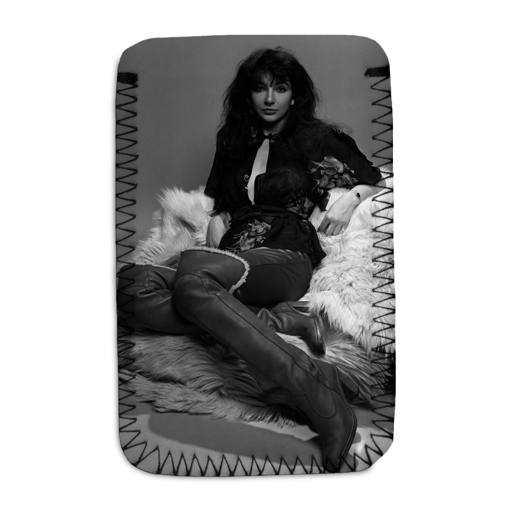 Singer Kate Bush in the studio March 1978 Phone Sock