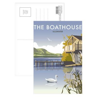 Ullswater Boathouse Art Print