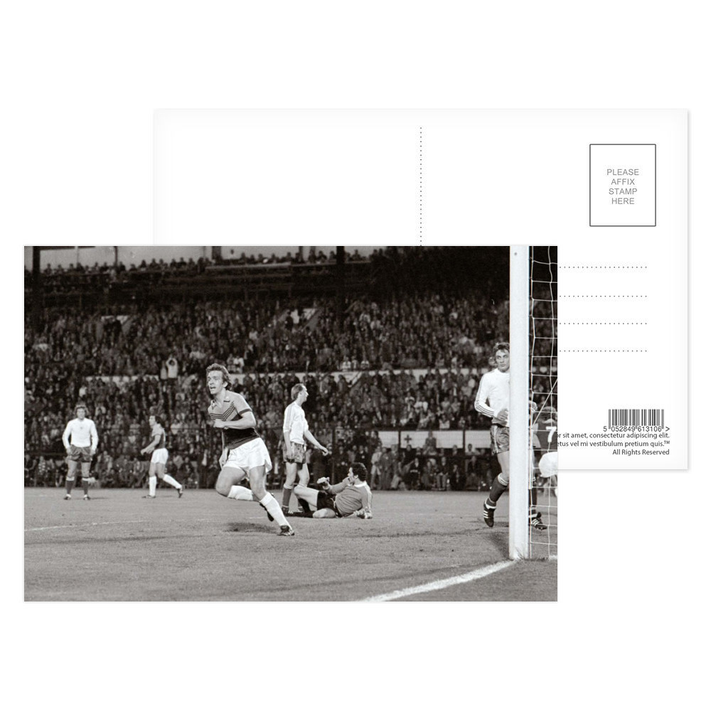 European Cup Winners Cup Final at the Heysel Stadium, May 1976. Anderlecht.. Postcard (x8)