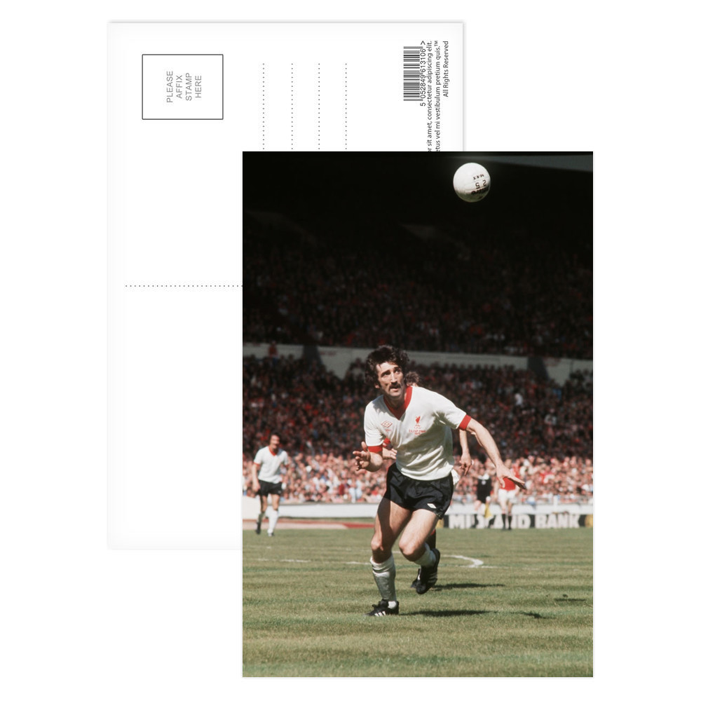 1977 FA Cup Final at Wembley : Manchester United 2 v Liverpool 1... Postcard (x8)