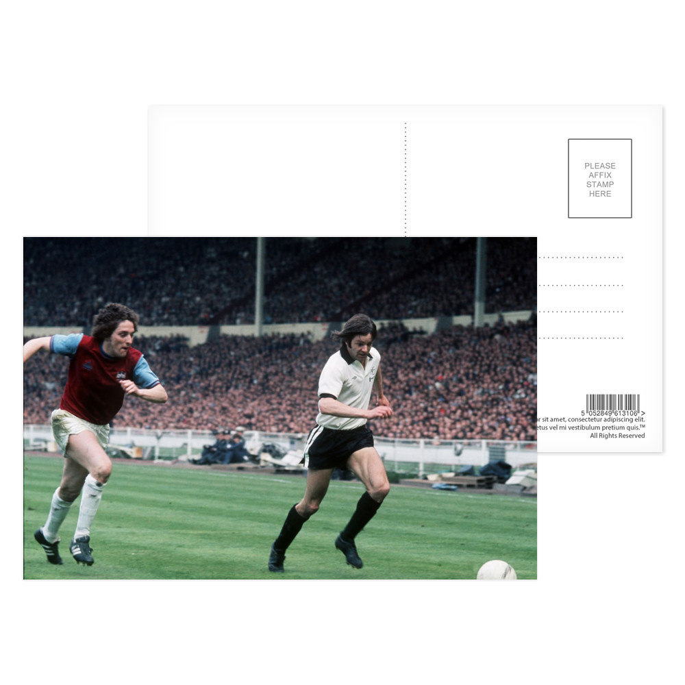 1975 FA Cup Final at Wembley, May 1975... Postcard (x8)