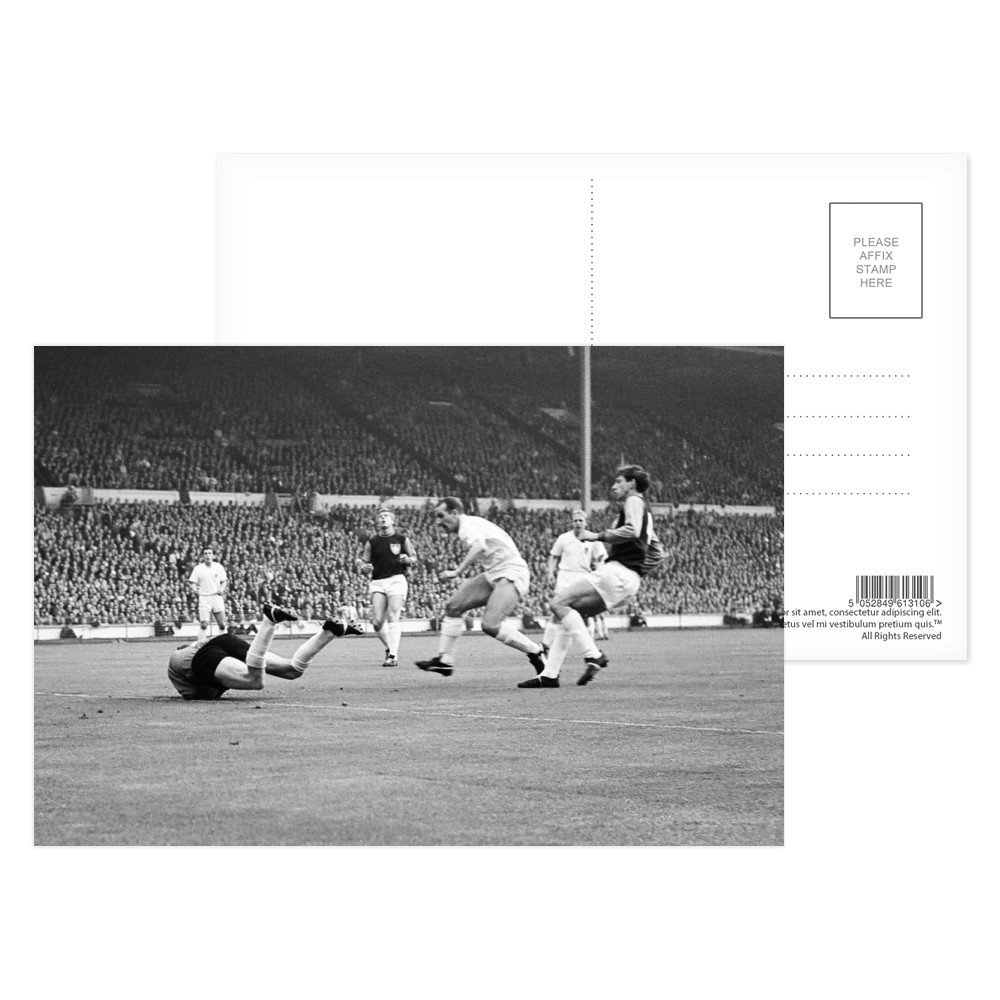 European Cup Winners Cup Final at Wembley Stadium. West Ham United 2 v.. Postcard (x8)