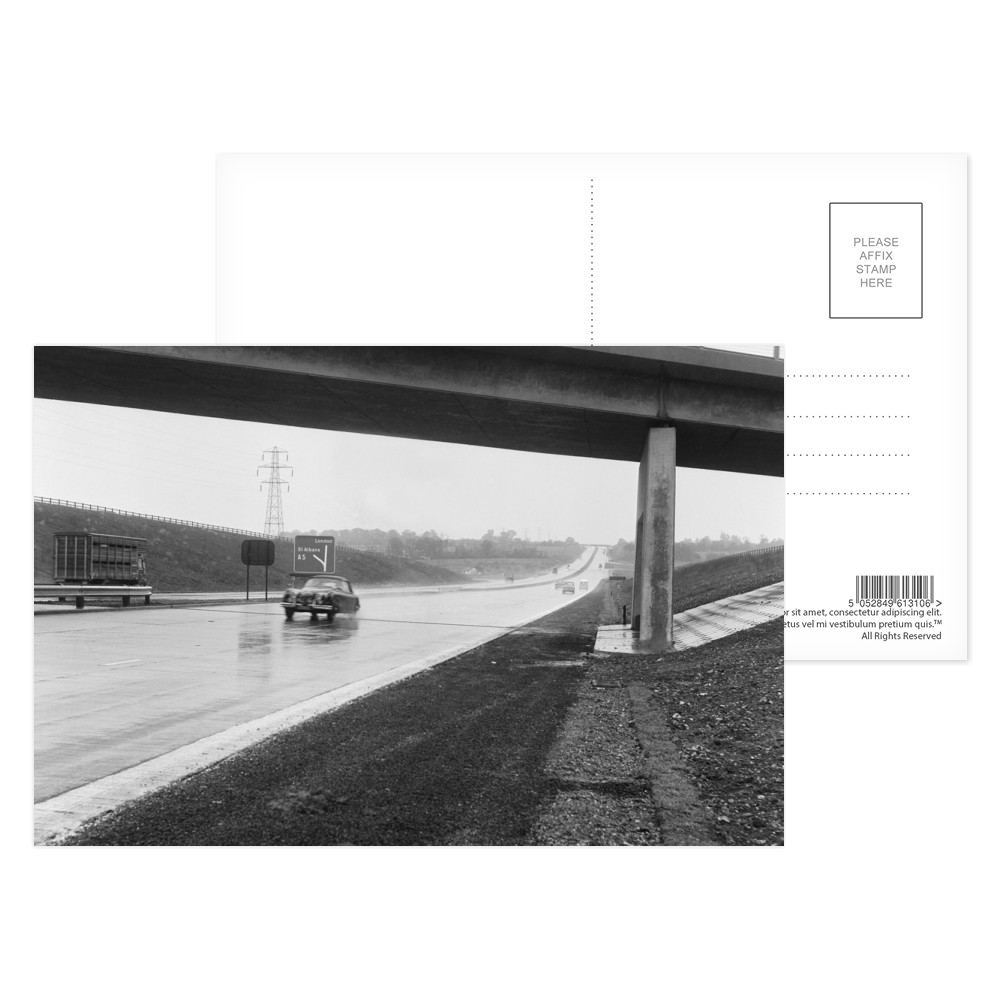 The M1 Motorway Postcard Postcard (x8)