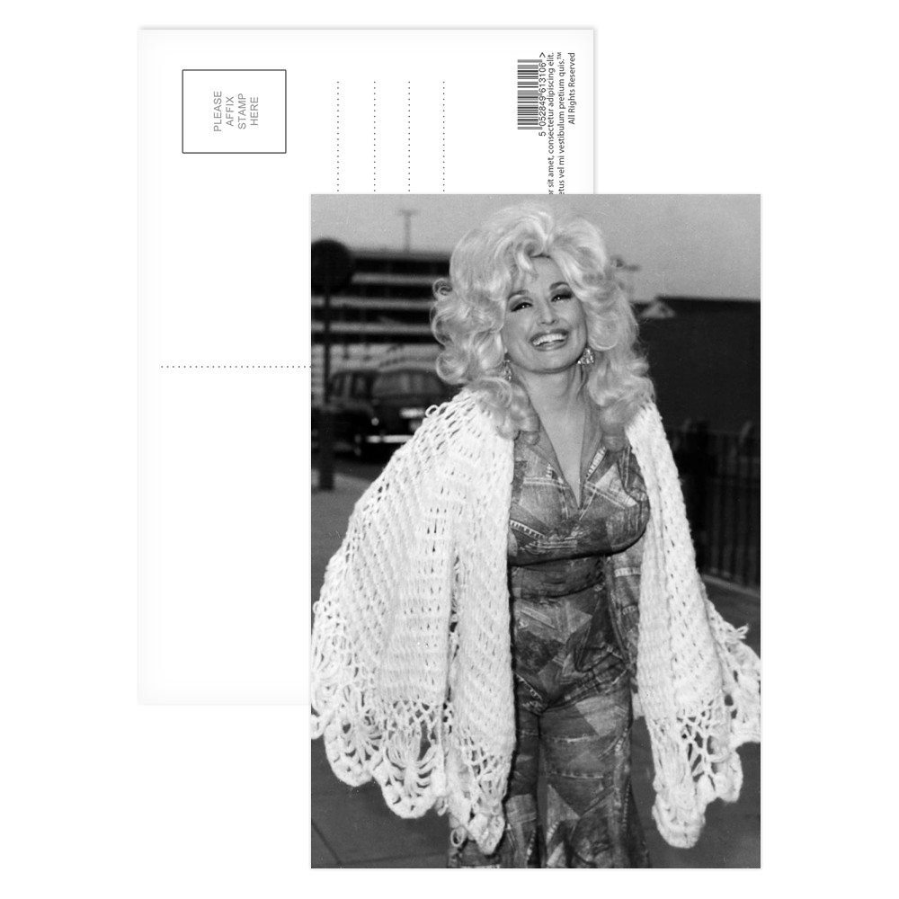 Dolly Parton Postcard (x8)