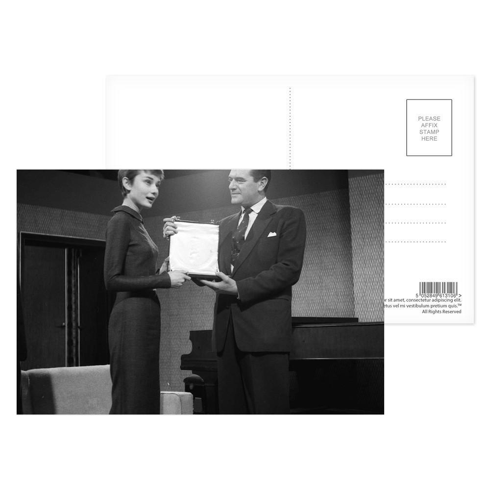 Audrey Hepburn Postcard (x8)