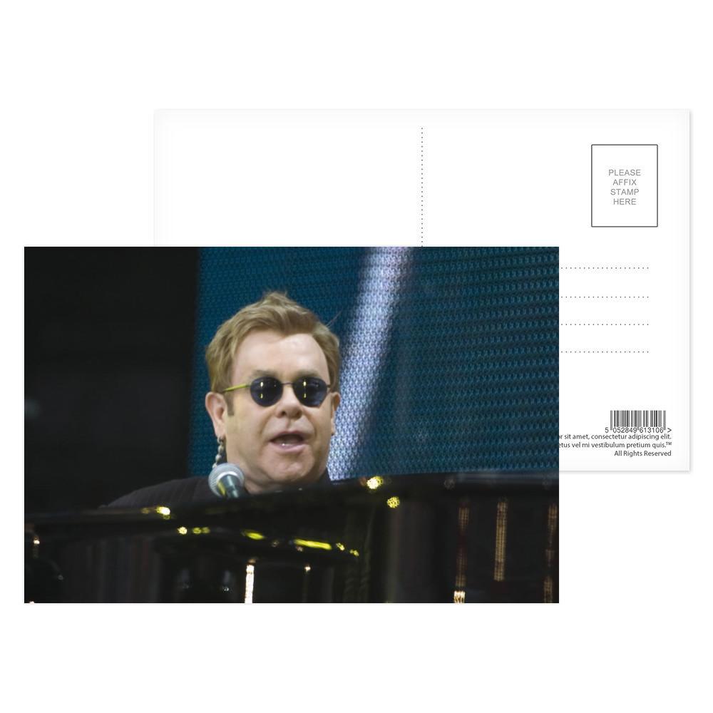 Elton John Postcard (x8)
