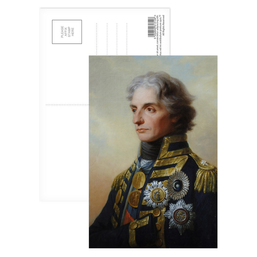 Lord Nelson Postcard (x8)